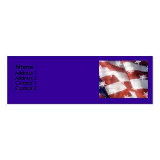 Flag contact card