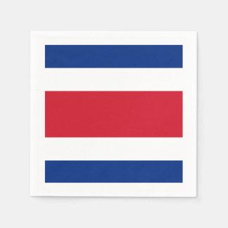 Flag: Costa Rica Napkin