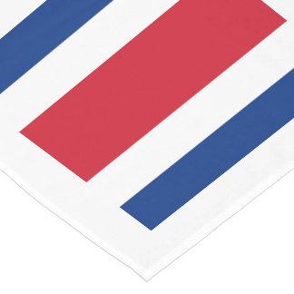Flag: Costa Rica Short Table Runner