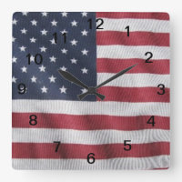 Flag day clock
