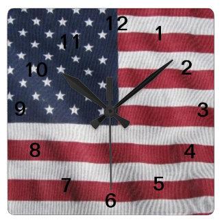 Flag day clock