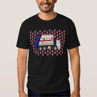 Flag Day Garbage Truck June T-shirt