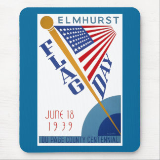 Flag Day Mouse Pad