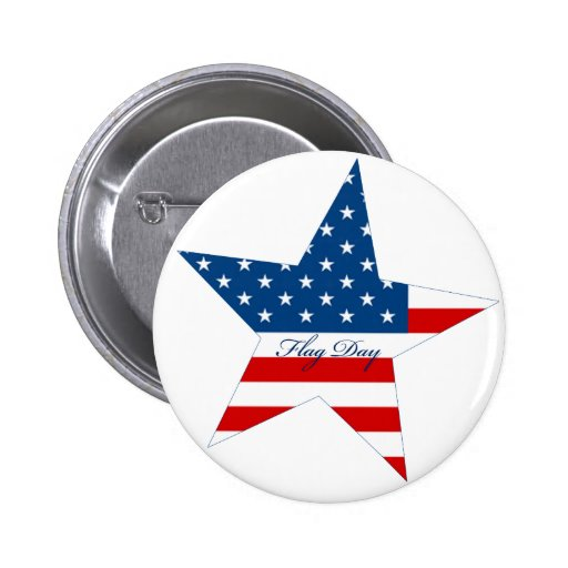 Flag Day Star Pin