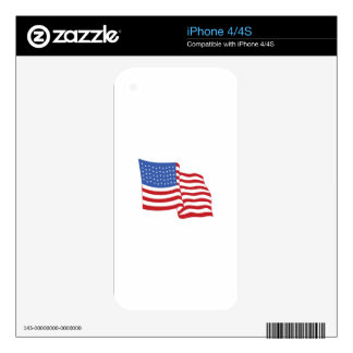 FLAG DECALS FOR iPhone 4S