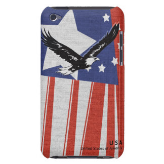 Flag Design-USA iPod Touch Cover