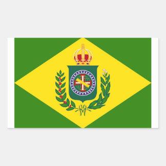 Flag Empire Rectangular Sticker
