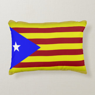 Flag Estelada Catalonia Accent Pillow