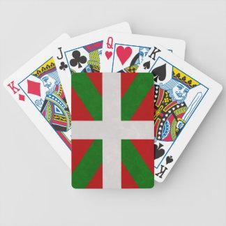 Flag Euskadi Pays Basque Bicycle Playing Cards