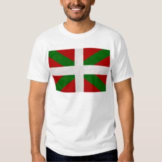Flag Euskadi Pays Basque T Shirts