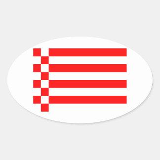 Flag - Fahne - Flagge Bremen German Sticker
