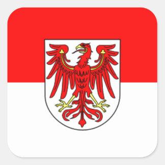 Flag - Fahne - Flagge - Germany - Brandenburg Sticker