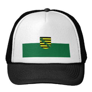 Flag Fahne Flagge Germany Saxony Sachsen Trucker Hat