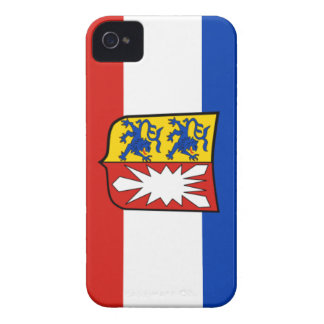 Flag - Fahne - Flagge - Germany Schleswig Holstein iPhone 4 Cases
