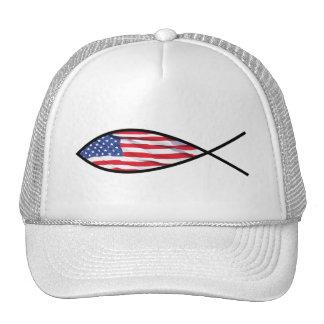 Flag Fish Trucker Hat