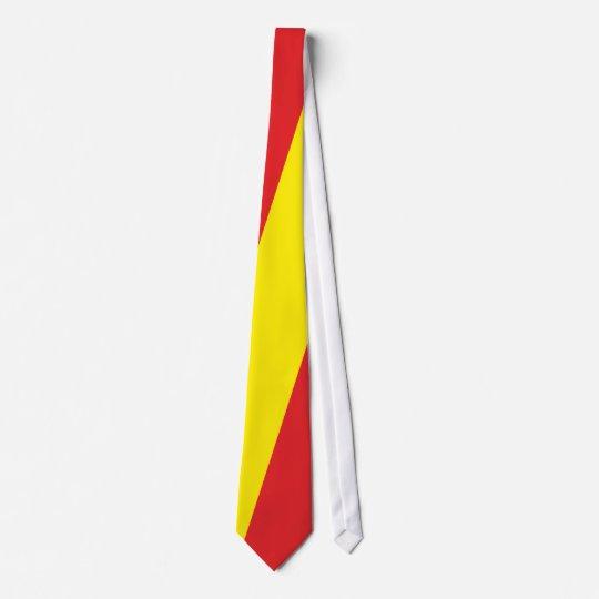 Flag flag flag Spain Espana Spain Neck Tie