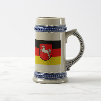 Flag - Flagge - Fahne Germany Lower Saxony Beer Stein