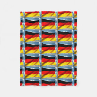 flag fleece blanket