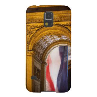 Flag Flies Inside The Arc De Triomphe, Paris Case For Galaxy S5