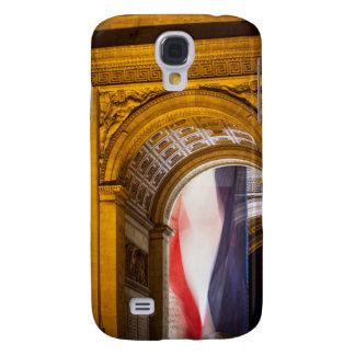 Flag Flies Inside The Arc De Triomphe, Paris Galaxy S4 Case