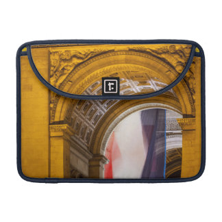 Flag Flies Inside The Arc De Triomphe, Paris MacBook Pro Sleeve