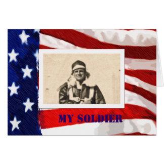 Flag Frame Card