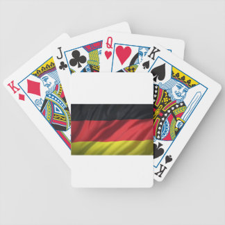 flag-germany- bicycle playing cards