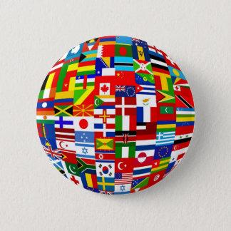 Flag Globe Button