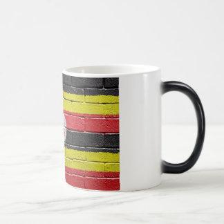 flag_grunge_wall_Uganda Magic Mug