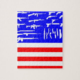Flag Guns Puzzle