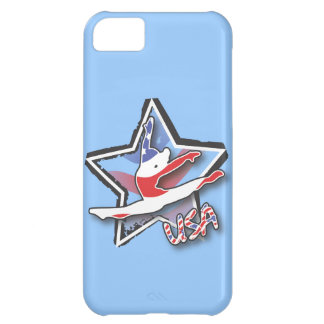 Flag Gymnast iPhone 5C Cover