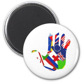 Flag Hand Magnet