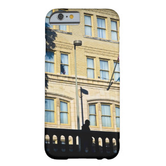 Flag hanging from a building, San Antonio, Barely There iPhone 6 Case