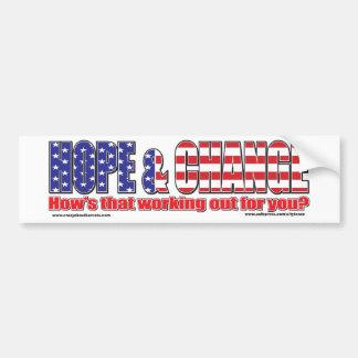 Flag-Hope-Tee Bumper Sticker