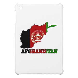Flag in Map of Afghanistan iPad Mini Covers
