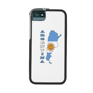 Flag in Map of Argentina Case For iPhone 5