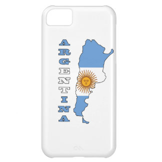 Flag in Map of Argentina iPhone 5C Cover