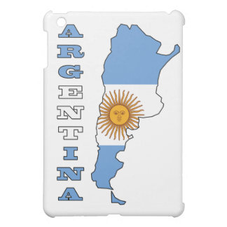 Flag in Map of Argentina iPad Mini Covers