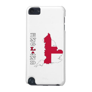 Flag in Map of England iPod Touch 5G Cover