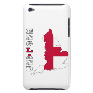 Flag in Map of England iPod Touch Case