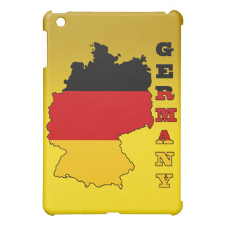 Flag in Map of Germany Cover For The iPad Mini