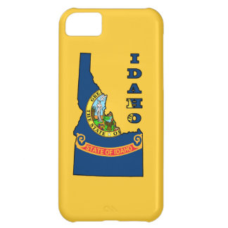 Flag in Map of Idaho iPhone 5C Cover