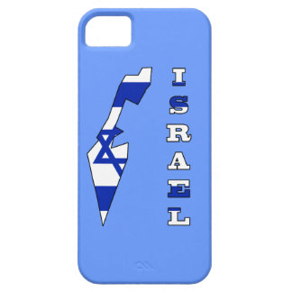 Flag in Map of Israel iPhone SE/5/5s Case