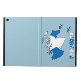Flag in Map of Scotland iPad Air Cases