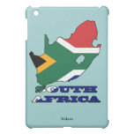 Flag in Map of South Africa iPad Mini Case