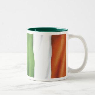 Flag, Irish Pride! Two-Tone Coffee Mug