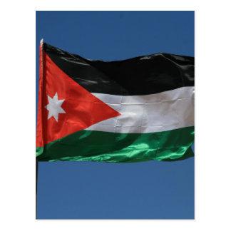 flag jordan postcard