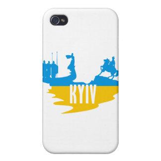 Flag Kyiv iPhone 4 Cases