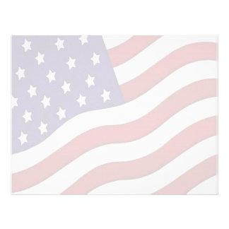 Flag Letterhead