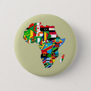Map Of Africa With Flags.South African Flag Map Gifts On Zazzle